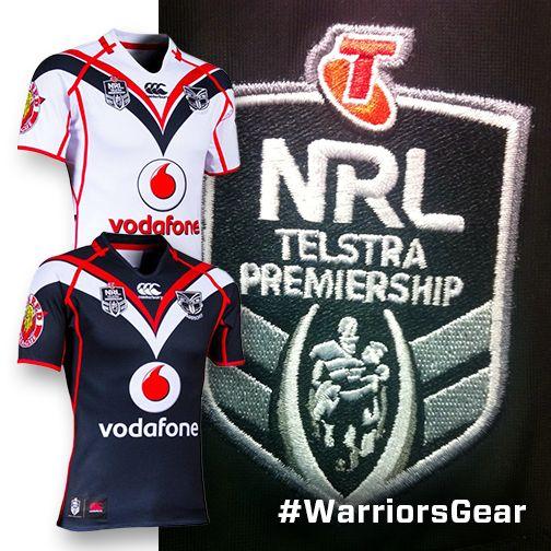 The all-new Vodafone Warriors NRL logo for 2014 #WarriorsGear #WarriorsForever #NRL