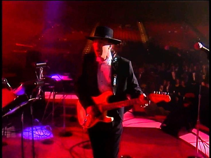 Not really a cover since he played guitar on the original Stevie Wonder song! Stevie Ray Vaughan Superstition Live In Washington Convention Center 1080P
