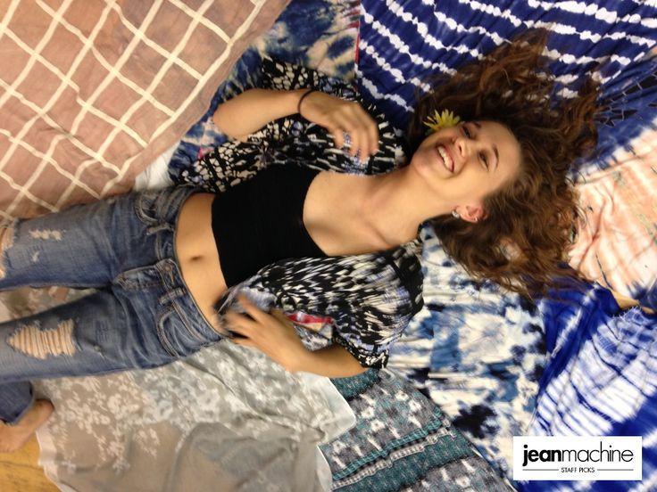 Paige rocks Jean Machine Festival Style in her #StaffPicks!