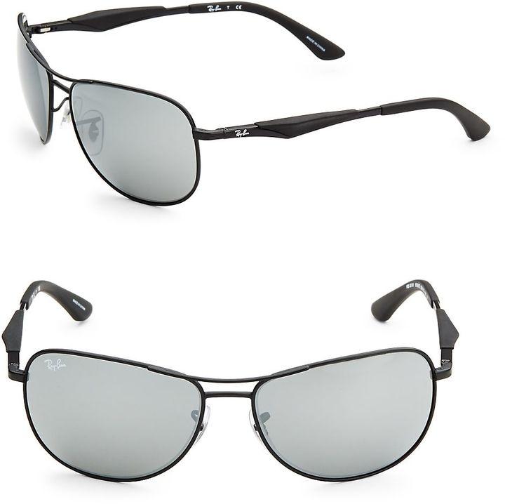 Ray-Ban Men's Oval Aviator Sunglasses