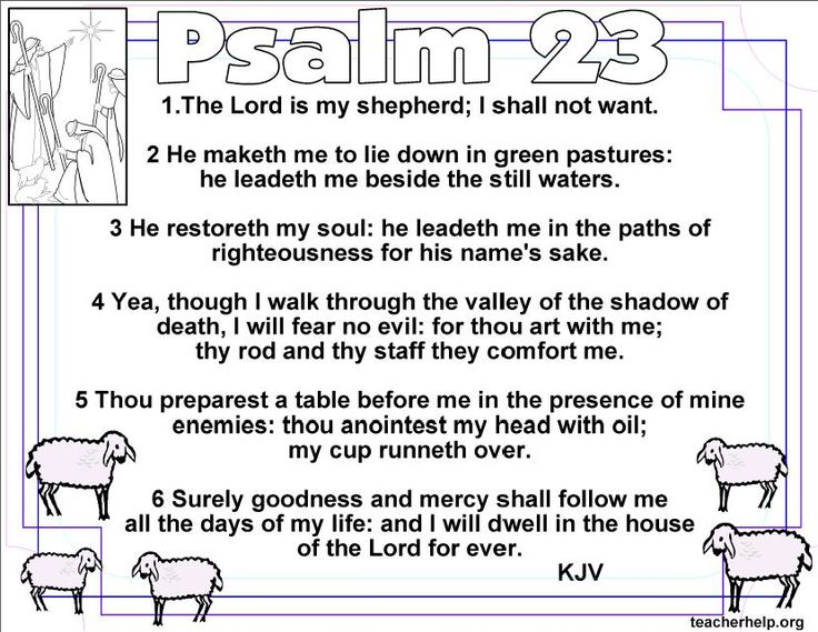 127 Best 23rd Psalm Images On Pinterest