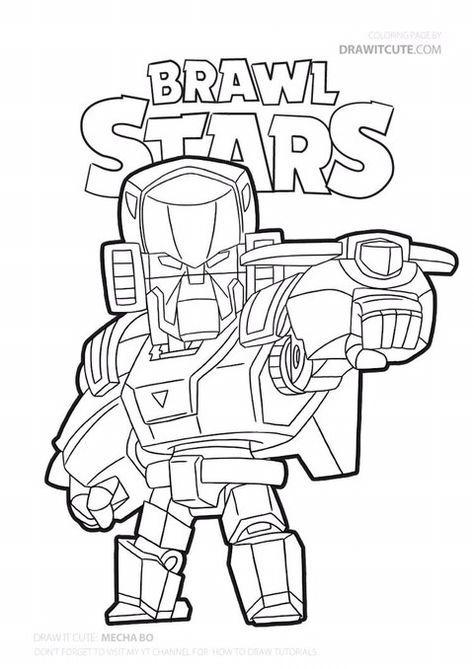 BRAWL STARS / 브롤스타즈 색칠공부 프린트 도안 모음! | 색칠 활동, 색칠공부 책, 컬러링 시트