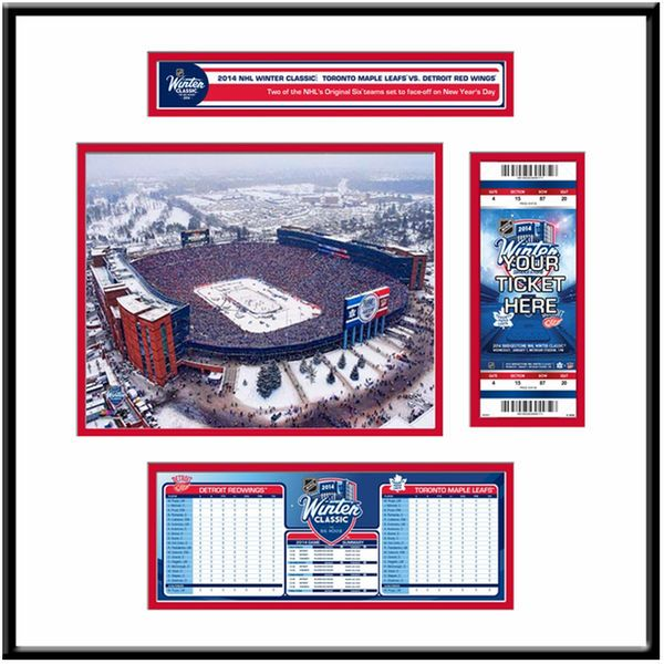 Detroit Red Wings 2014 NHL Winter Classic Ticket Frame Jr. - $119.99