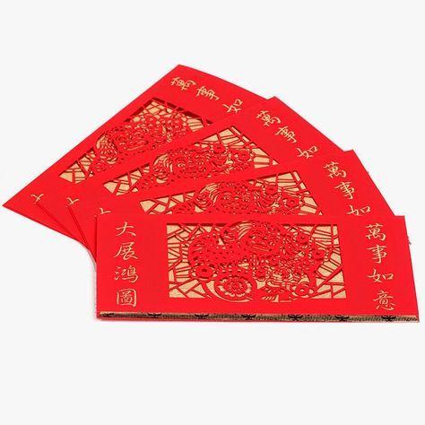 Canto do Feng Shui: Envelopes Vermelhos