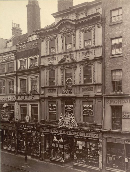 Cheapside, London, 1880