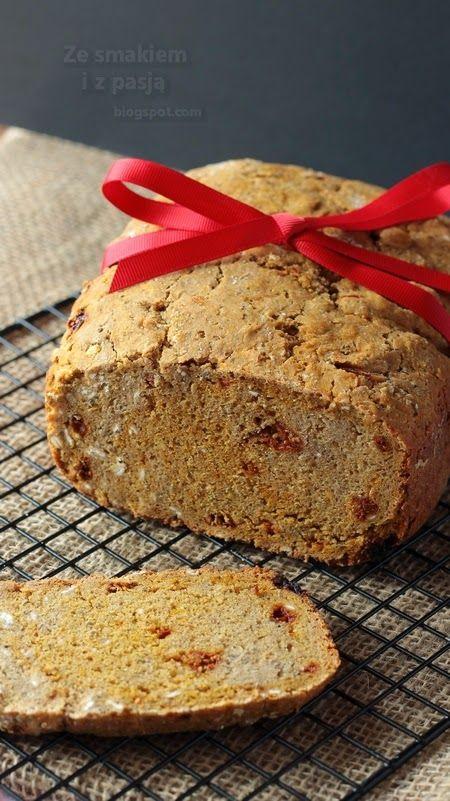 Ze smakiem i z pasją: Chleb żytni z płatkami owsianymi i jagodami goji (z automatu)