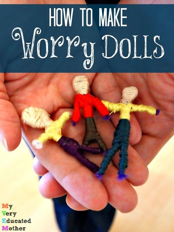 how to make worry dolls step by step