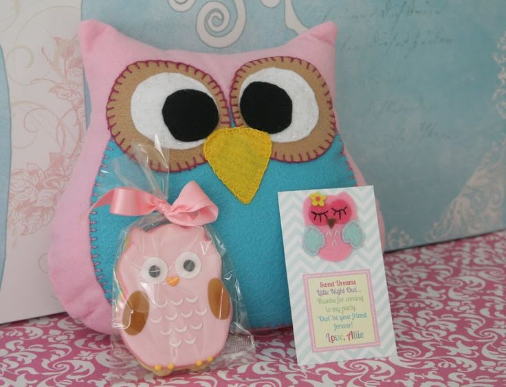 Owl Party favors - WHOO CUTE!