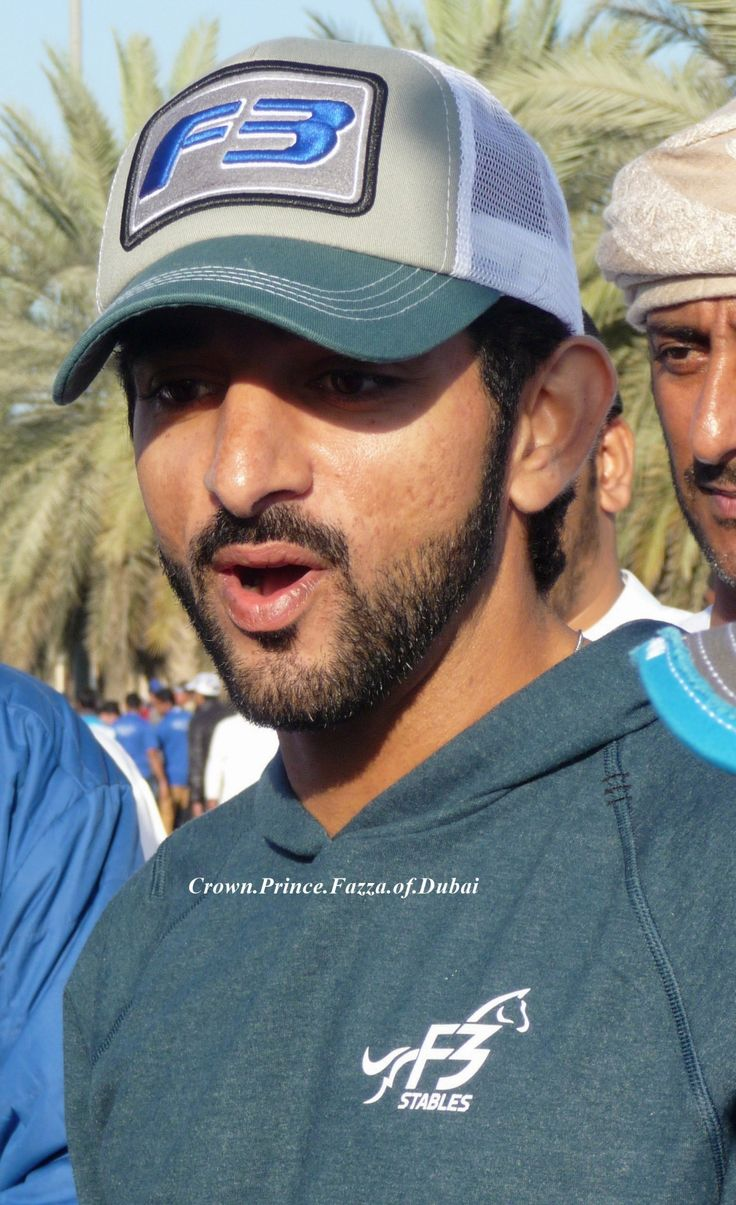 Photo by me!  January 7, 2017 - Prince Fazza attending the HH Sheikh Mohammed bin Rashid Al Maktoum Endurance Cup at Dubai International Endurance City.