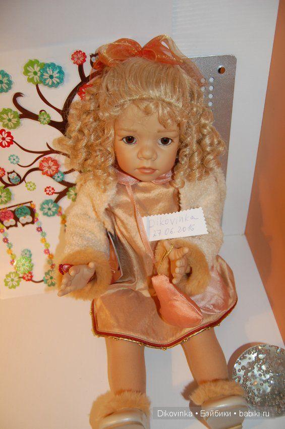 Рождественский ангел Noelle от Elisabeth Lindner для Gotz / Коллекционные куклы (винил) / Шопик. Продать купить куклу / Бэйбики. Куклы фото. Одежда для кукол