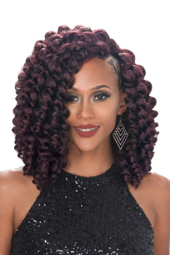 V8910 [ONE PACK ENOUGH / CROCHET BRAID]  CURL NAME : ROD SET LENGTH : 8″, 9″, 10″ ONE PACK CROCHET BRAID JUST ENOUGH TO STYLE ONE'S HAIR V SHAPE FINISH STYLING LOOK NATURAL HAIR LAYERED (PRE-CUT HAIR LINE) SHORT LENGTH CURLY STYLE BRAID PACK TRENDY CURLY STYLE IN BRAIDS SOFT TOUCH WITH VOLUMINOUS HAIR STYLE
