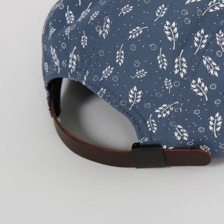 Shop NORSE PROJECTS : CORNPRINT 5 PANEL Cap - Blue | Someday