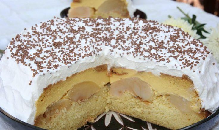 Tort De Mere Cu Crema De Vanilie