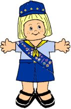 Dress up your Paper Dolls as Australian Guides! Fun for Girl Scout Thinking Day Project. Printable clothing on MakingFriends.com
