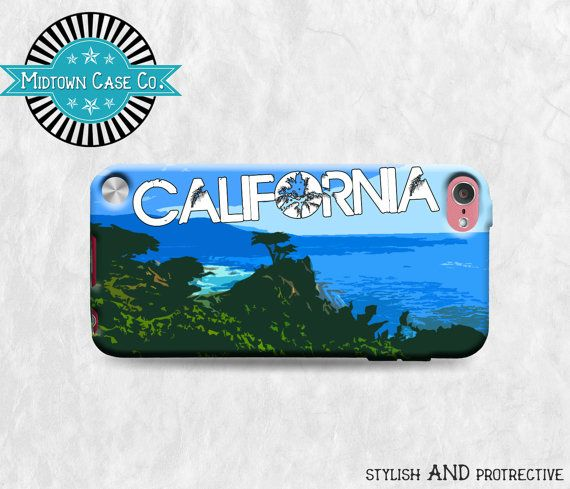 California Lone Cypress Ocean View iPod Touch 5th by MidtownCaseCo