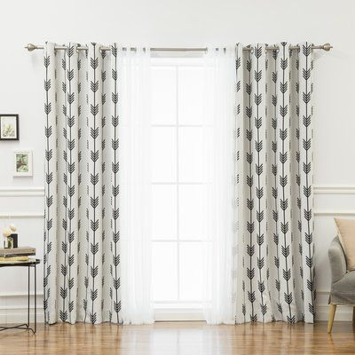 Basics Solid Blackout Grommet Single Curtain Panel Drapes Curtains Panel Curtains Tulle Curtains