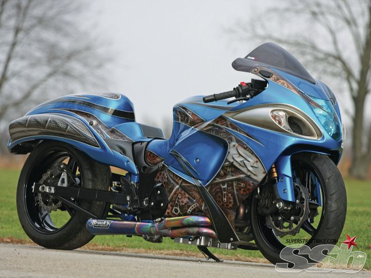 2008 Suzuki Hayabusa Drag Bike | Assume The Position