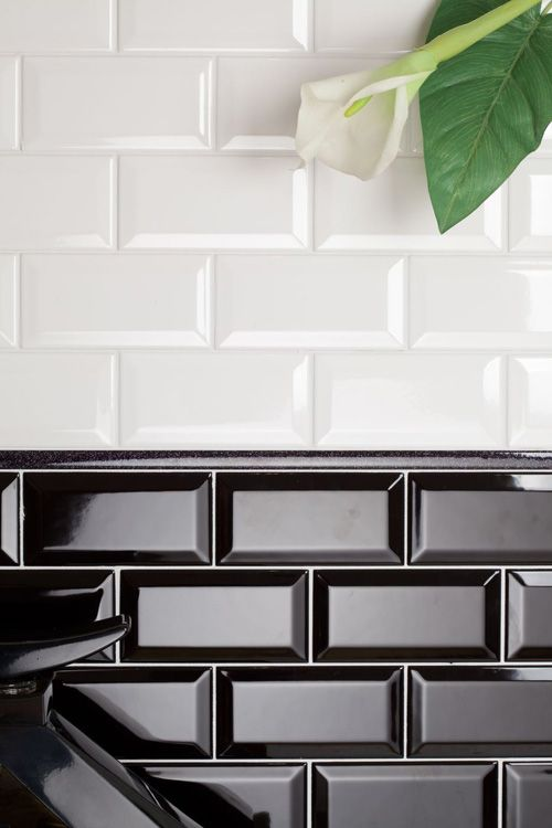 Best Black Subway Tiles Ideas That You Will Like On Pinterest
