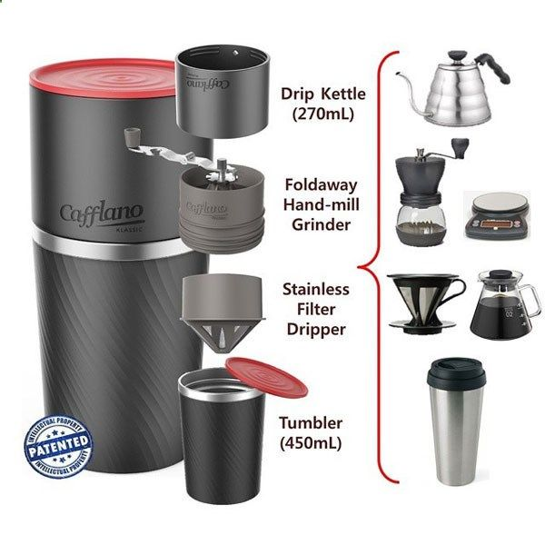 Camping Coffee Maker - Cafflano Klassic: Travel Coffee Maker is the Perfect Answer for Coffee Connoisseurs - #coffee #invention #mornings