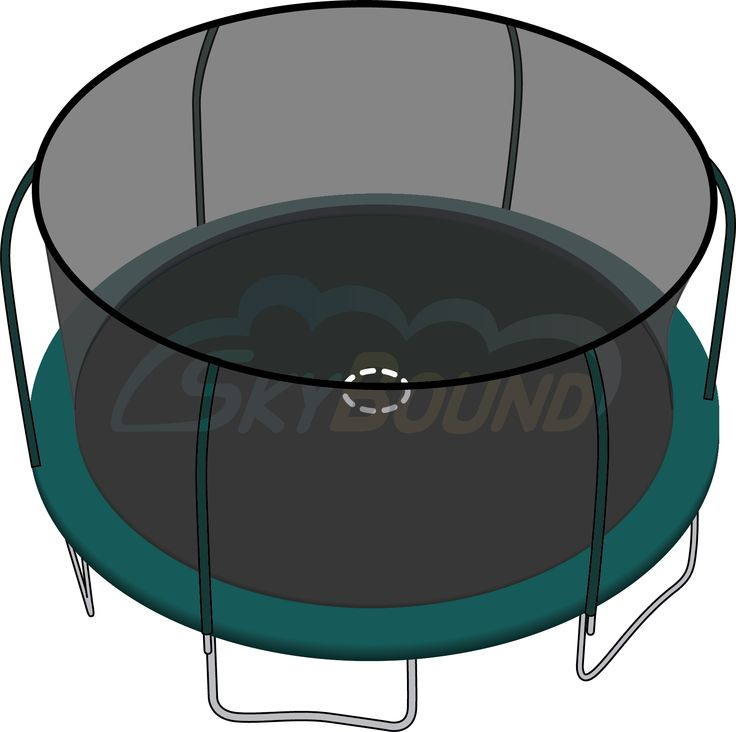 15 ft Trampoline Net (BouncePro/Sportspower) | Trampoline Parts Center