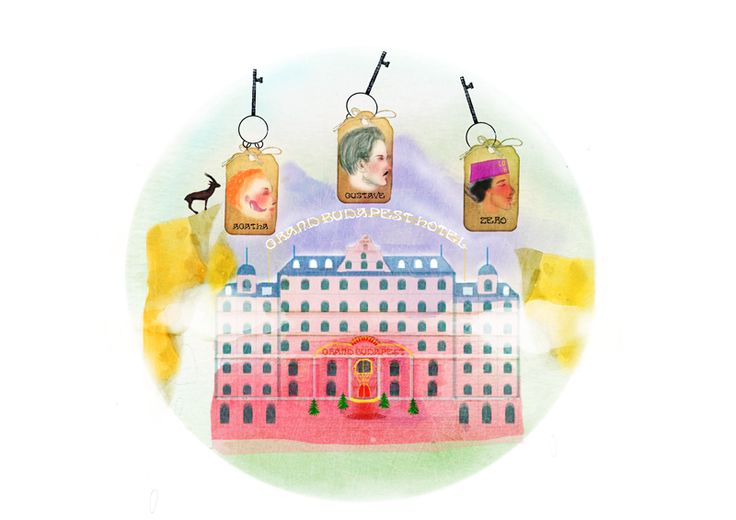 Homage to The Grand Budapest Hotel
