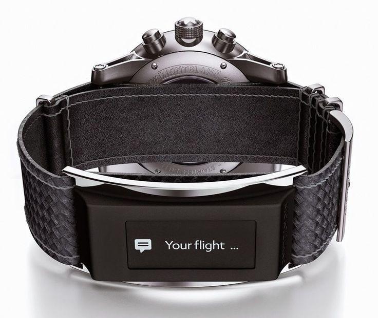 Tradición relojera y alta tecnología en un mismo modelo de Montblanc: http://www.gq.com.mx/maquinas/editors-pick/articulos/reloj-time-walker-urban-speed-e-strap-de-montblanc/4396