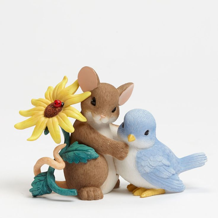 CHARMING TAILS Dean Griff Figurine Bird 4043860 THANK YOU FOR BEING SO TWEET #CharmingTails