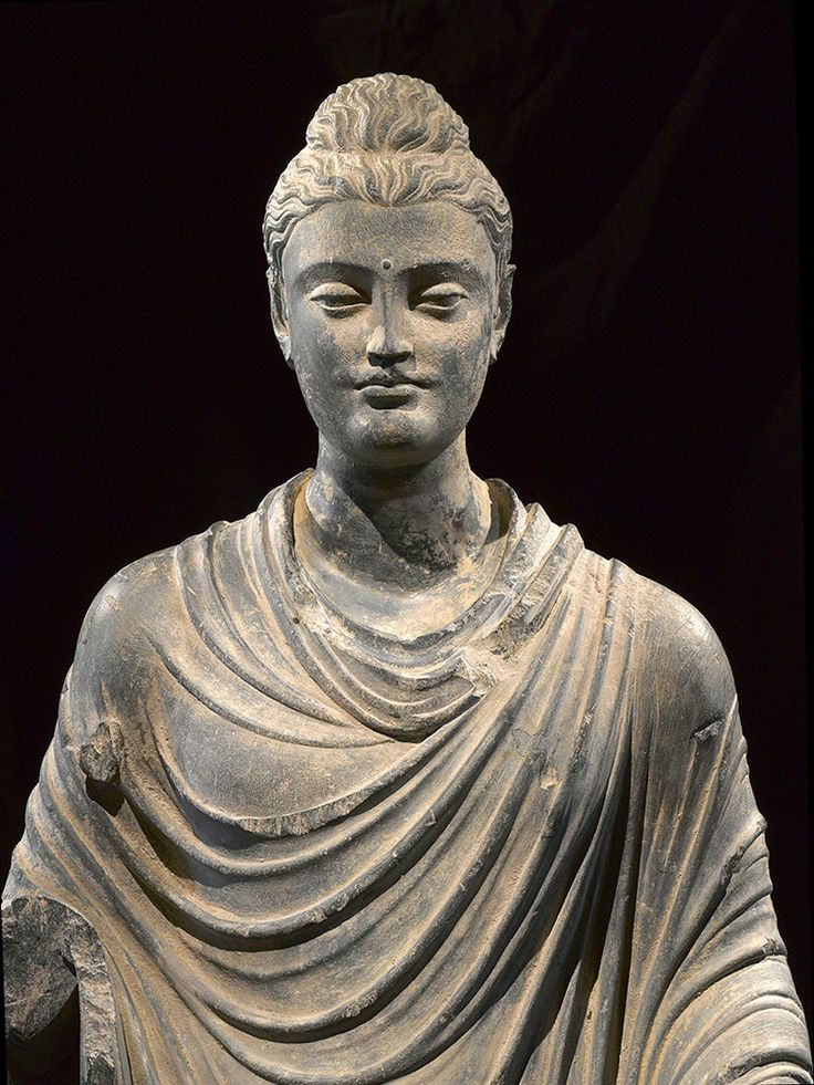 Magnificent Gandharan Buddha [Standing], 1st-2nd century AD.