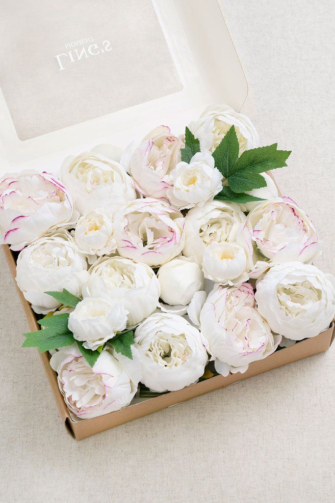 Assorted Sizes Silk Peony With Stem 5 Styles In 2020 Foam Roses Handmade Bouquets Flower Arrangements Diy