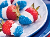Patriotic strawberries!
