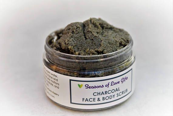 Charcoal Face Scrub  Face Scrub  Charcoal Face Wash