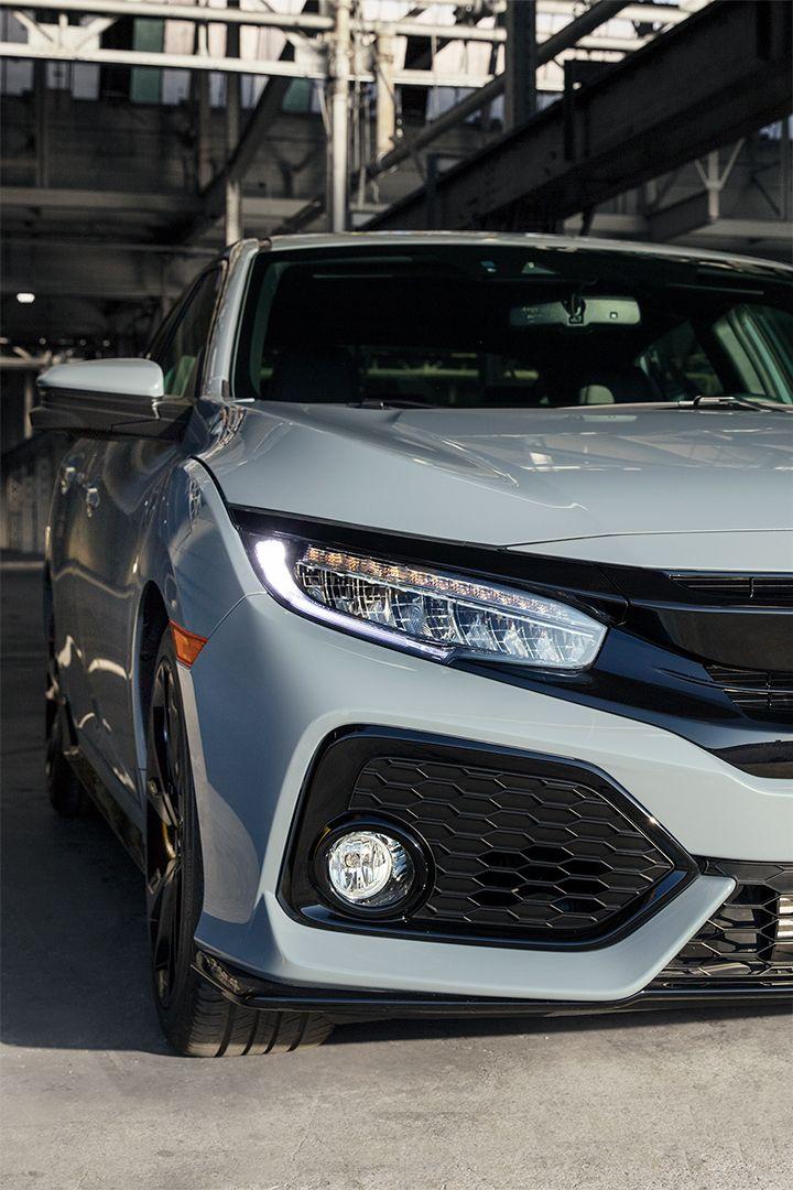 Let your inner beast shine through inside the bold Honda Civic Hatchback.