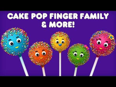 Cake Pop Finger Family Collection |  Finger Family Collection | Daddy Songs - YouTube