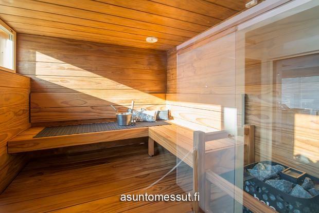 11 Lammi-Kivitalo Luna - Sauna