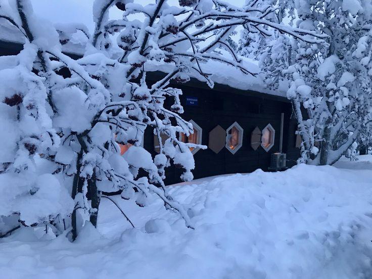 Perinteinen Ounasvaaran maja on taas tilauksesta toiminnassa! 01/2018