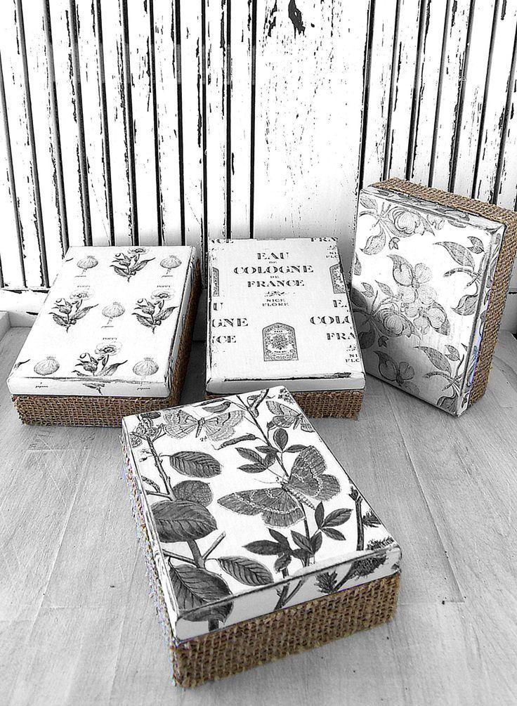 114 best cajas madera images on pinterest crates craft - Cajas de madera ...