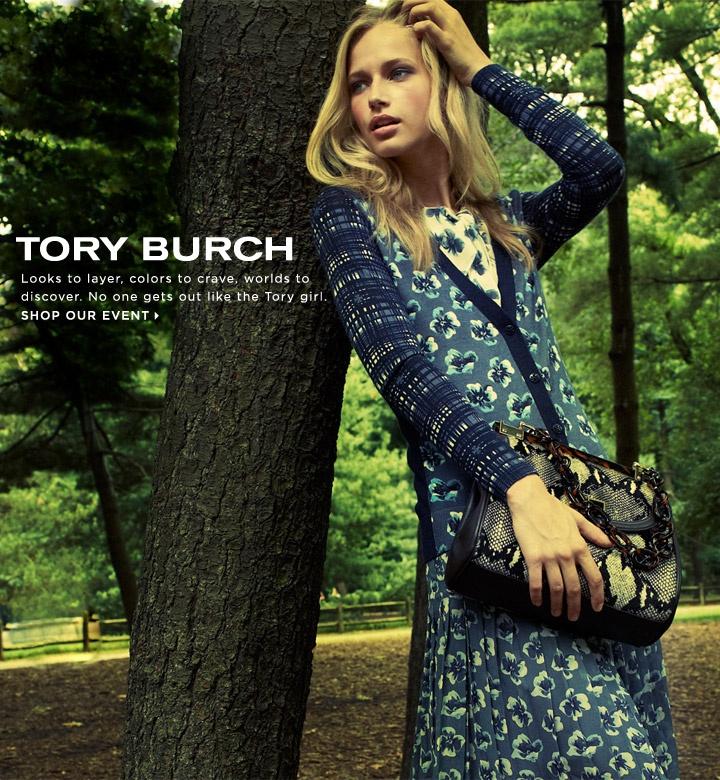 Tory Burch fall ad