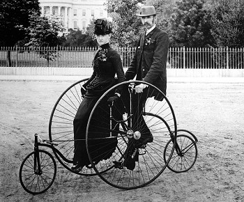 1886 bicycle built for two