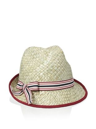44% OFF Il Cappellaio Women's Johnny Fedora (Navy/White/Red)