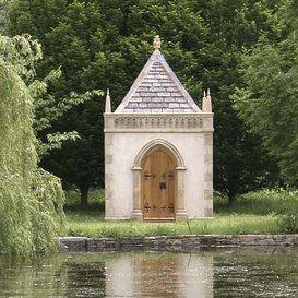 Good Garten Pavillon aus Stein Drayton Garden GartenH uschen Pinterest