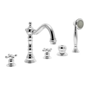 deck mount tub faucet with diverter. Symmons Carrington Chrome Deck Mount Bathtub Faucet at Lowe s  Created to reflect a look of historical elegance and sophistication the 9 best Roman Tub Faucets images on Pinterest Handle Knob