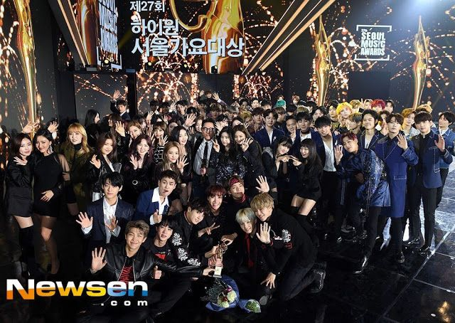 2018 Seoul Music Awards Reveals Family Photo Featuring All
