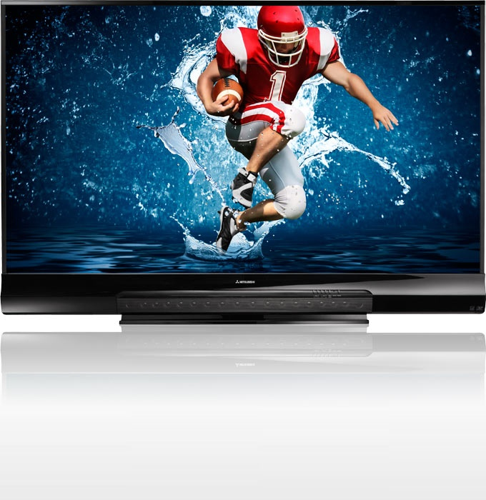 Mitsubishi WD-82838 82″ 3D Home Cinema TV brings you all you need to experience the ultimate at-home experience right out of the box. Mitsubishi 3D DLP Home Cinema TVs offer a larger than life, intensely vivid 2D and fully immersive 3D viewing experience. A 16 speaker array capable of producing 5.1 Dolby Digital Surround Sound, A 3D ready, 1080p display & StreamTV so you can stream HD movies without additional boxes or cables.