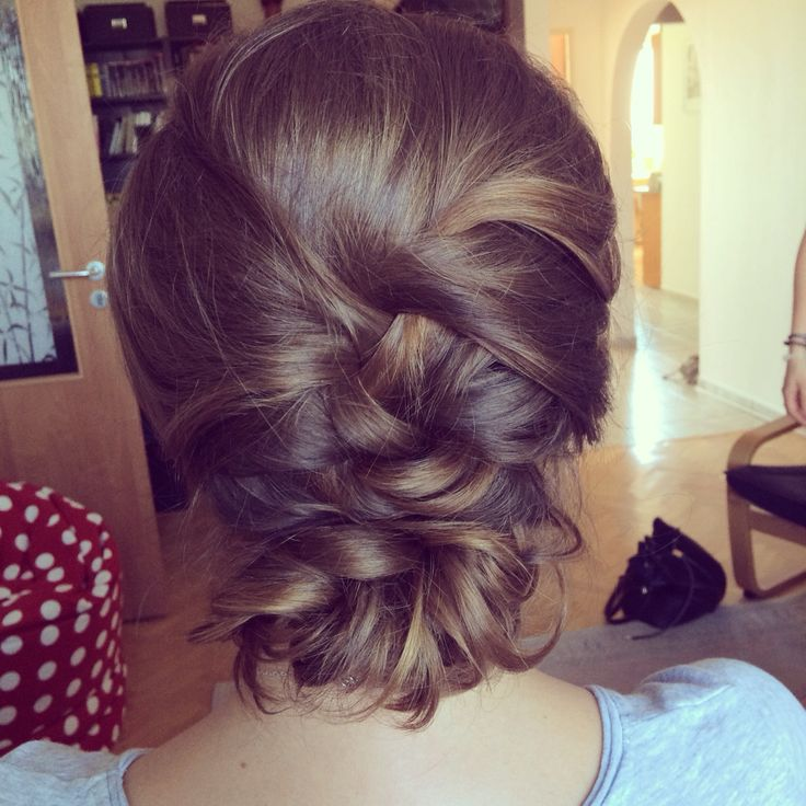 Hairstyles For Quite Short Hair : Bridial hairstyle for quite a short hair Hairstyle inspiration ...