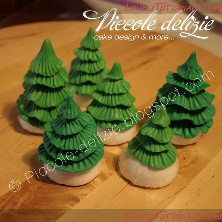 Cake Decorating Making Trees : 24 best images about TREES on Pinterest Christmas trees ...