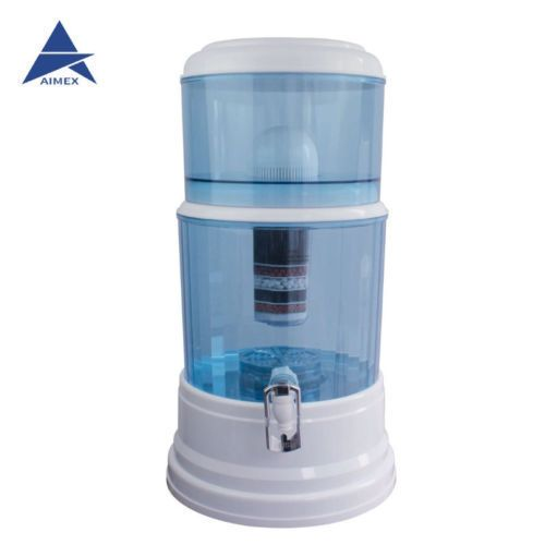 #8StageWaterFilter #CeramicCarbonMineral #BenchtopDispenser #PurifierPot20L  New 20L 8 Stage Awesome Water Filter Ceramic Carbon Mineral Bench top Dispenser