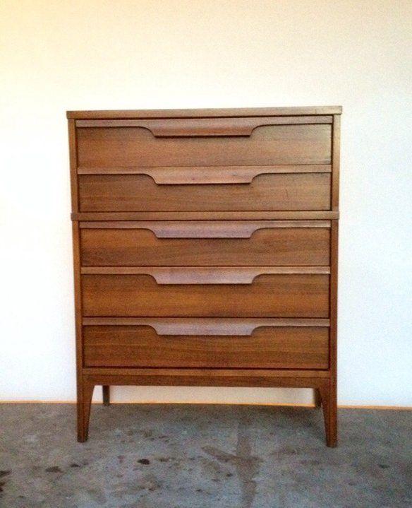 johnson carper dresser for sale | Johnson Carper 5 Drawer Highboy Dresser
