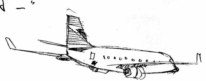 Airplane Sketch Tattoo Inspiration Pinterest Sketches And Airplanes