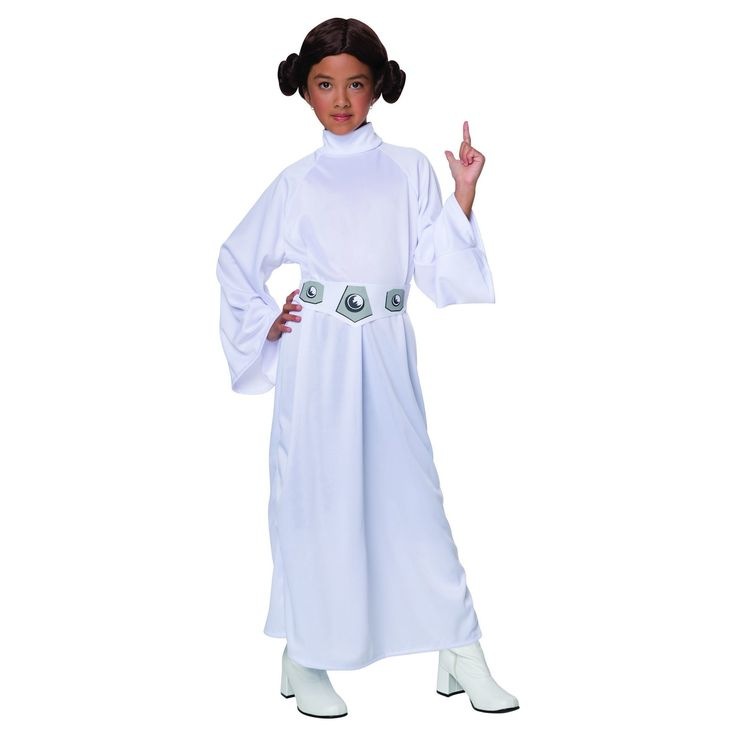 Girls' Star Wars® Princess Leia Costume - L (10-12) : Target