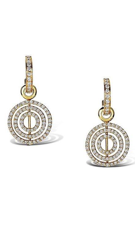 Cassandra Goad | Lok Yellow Gold Diamond Earrings